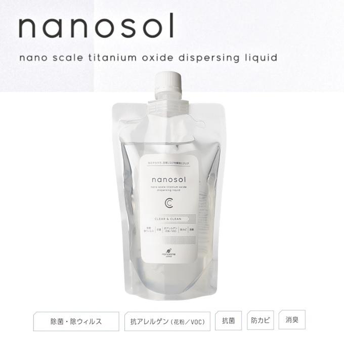 【ナノソルCC販売開始】ワンプッシュで24時間抗菌効果が持続★光のチカラで空間リスクを瞬間にクリア!